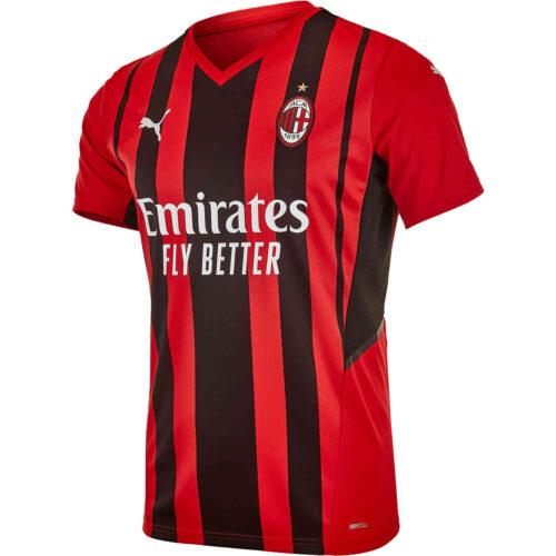 2021/22 PUMA AC Milan Home Jersey