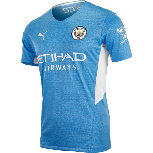 2021/22 PUMA Manchester City Home Authentic Jersey