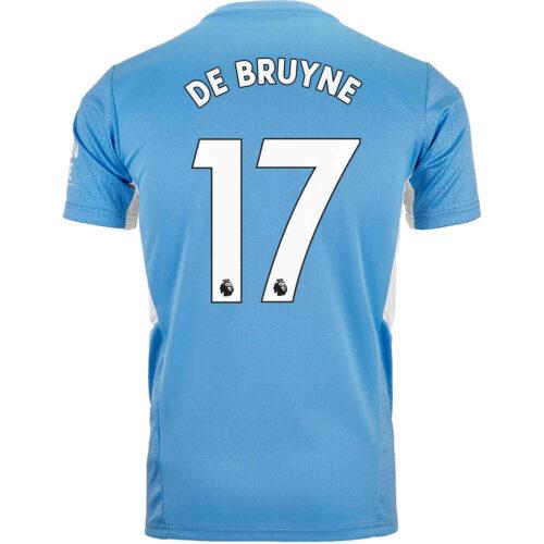 2021/22 PUMA Kevin De Bruyne Manchester City Home Jersey