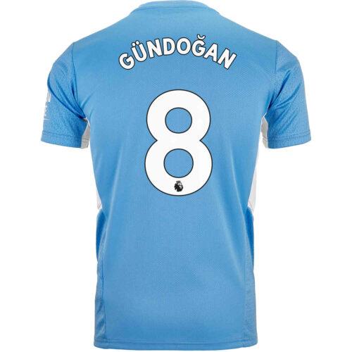 2021/22 PUMA Ilkay Gundogan Manchester City Home Jersey
