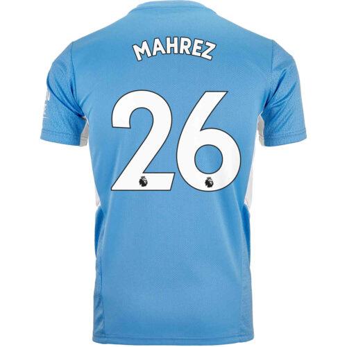 2021/22 PUMA Riyad Mahrez Manchester City Home Jersey