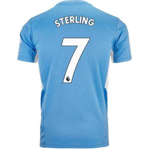 2021/22 PUMA Raheem Sterling Manchester City Home Jersey