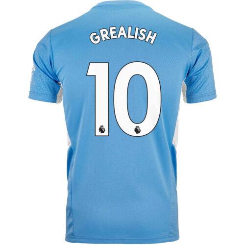 2021/22 Kids PUMA Jack Grealish Manchester City Home Jersey