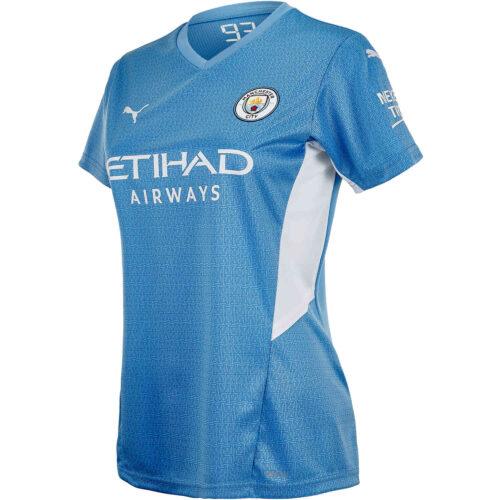 2021/22 Womens PUMA Jack Grealish Manchester City Home Jersey