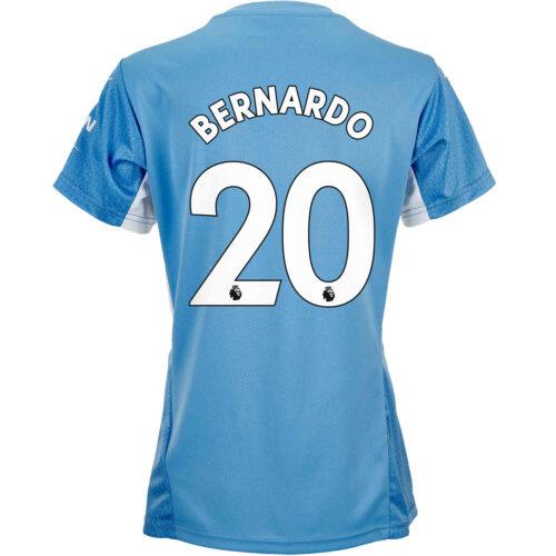 2021/22 Womens PUMA Bernardo Silva Manchester City Home Jersey