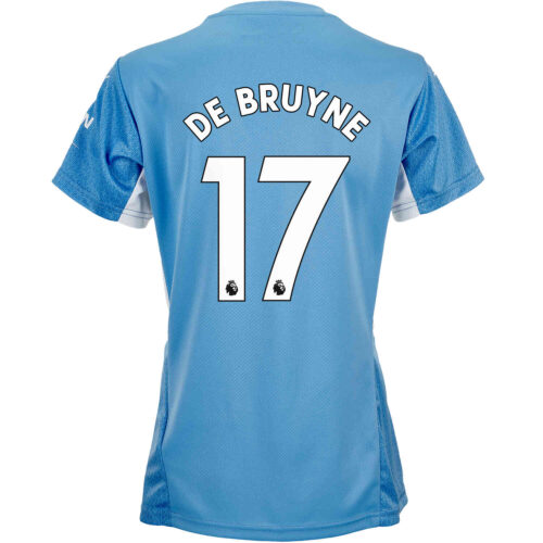 2021/22 Womens PUMA Kevin De Bruyne Manchester City Home Jersey