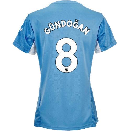 2021/22 Womens PUMA Ilkay Gundogan Manchester City Home Jersey