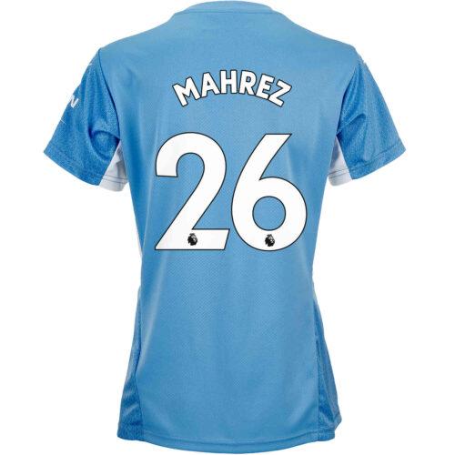 2021/22 Womens PUMA Riyad Mahrez Manchester City Home Jersey