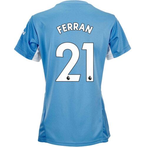 2021/22 Womens PUMA Ferran Torres Manchester City Home Jersey
