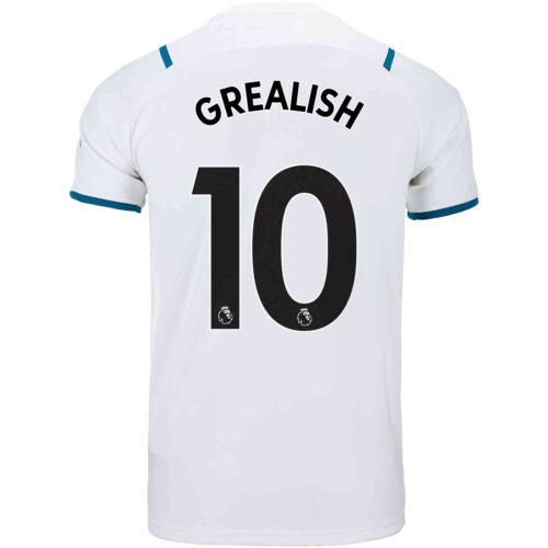 2021/22 PUMA Jack Grealish Manchester City Away Jersey