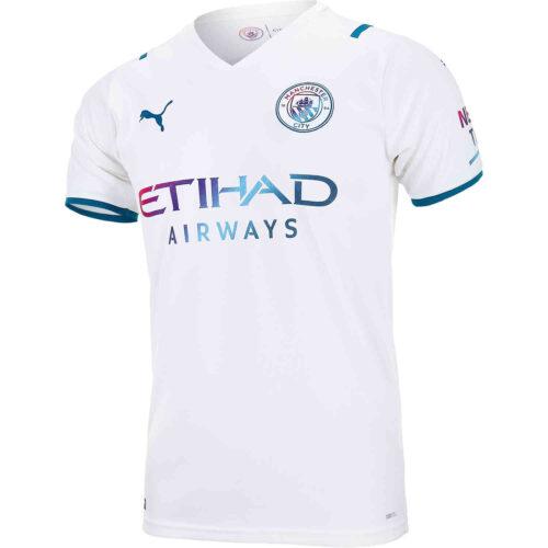 2021/22 Kids PUMA Manchester City Away Jersey