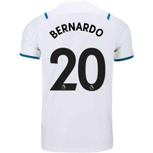 2021/22 Kids PUMA Bernardo Silva Manchester City Away Jersey