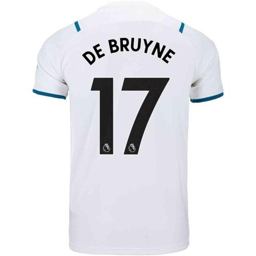 2021/22 Kids PUMA Kevin De Bruyne Manchester City Away Jersey