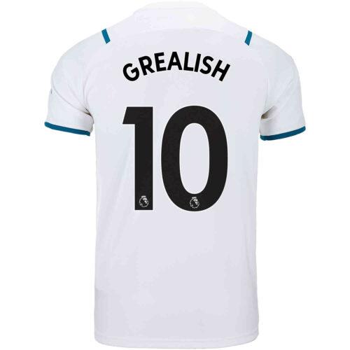 2021/22 Kids PUMA Jack Grealish Manchester City Away Jersey