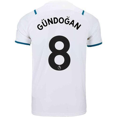 2021/22 Kids PUMA Ilkay Gundogan Manchester City Away Jersey