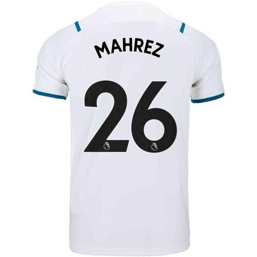 2021/22 Kids PUMA Riyad Mahrez Manchester City Away Jersey