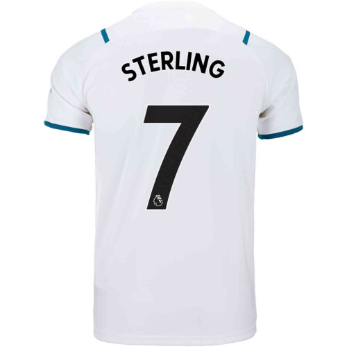 2021/22 Kids PUMA Raheem Sterling Manchester City Away Jersey
