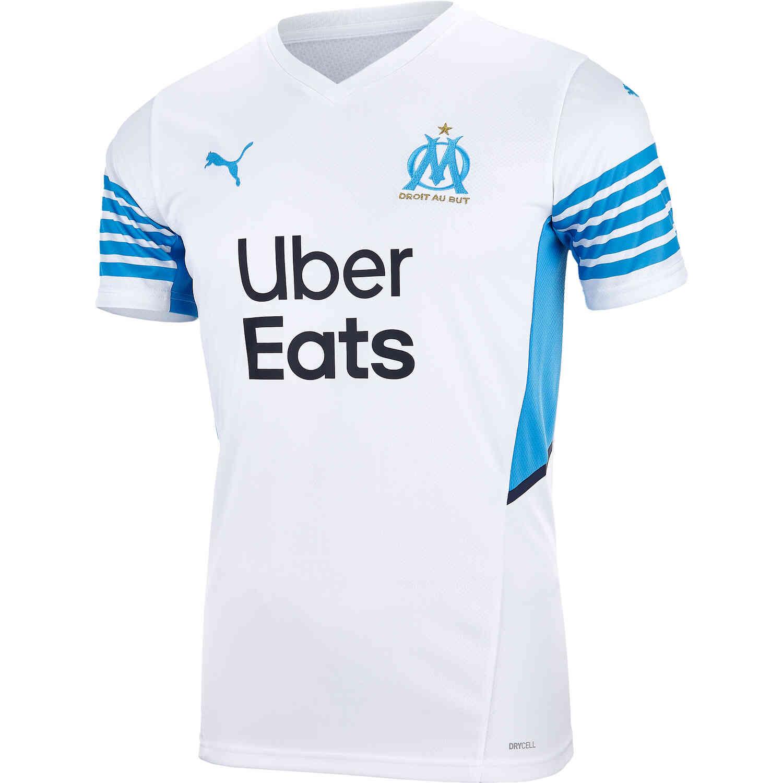 PUMA Marseille Home Jersey – 2021/22