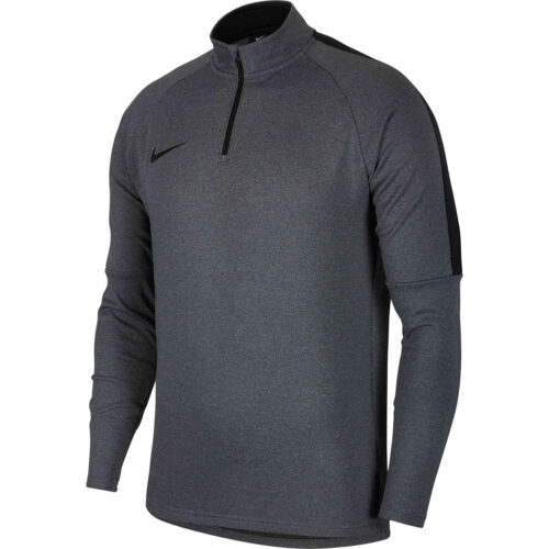 Nike Dry Academy Drill Top – Heather Black