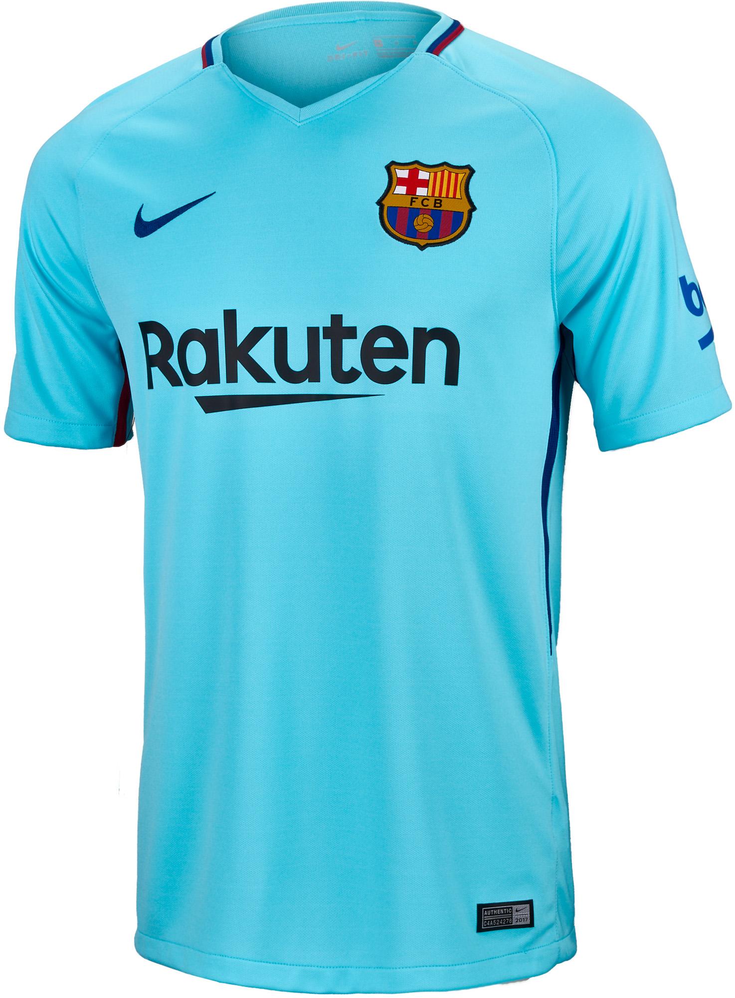 755bc7d1bbd Nike Kids Barcelona Away Jersey- 17/18 Barcelona Jersey