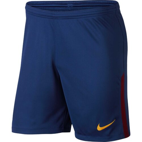 Nike Kids Barcelona Home Short – Deep Royal Blue/University Gold