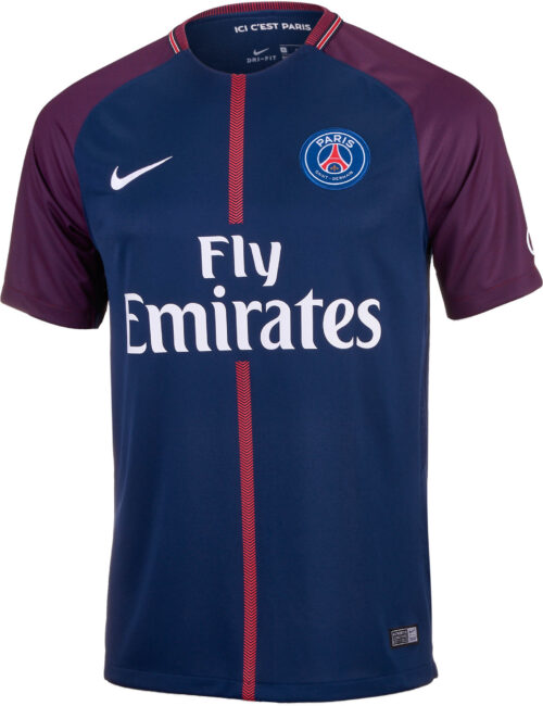 Nike Kids PSG Home Jersey 2017-18 NS