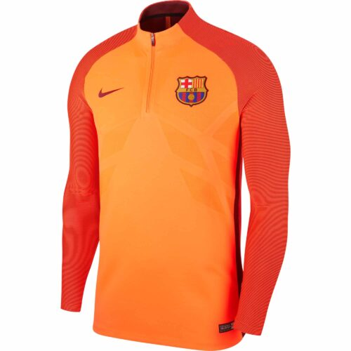 Nike Barcelona Strike Drill Top – Hyper Crimson/Night Maroon