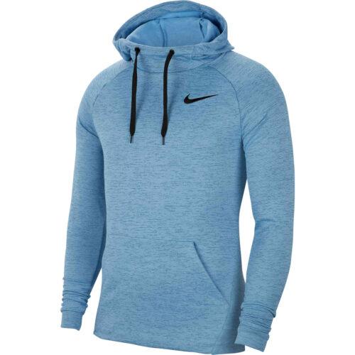 Nike Pullover Training Hoodie – Mystic Navy/Light Blue Heather/Black
