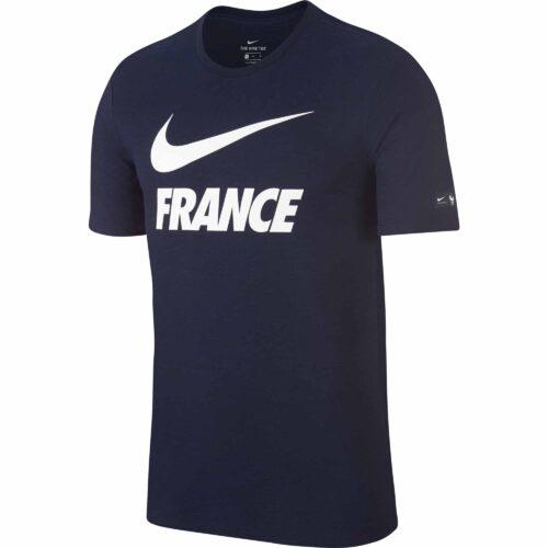 Nike France Preseason Slub Tee – Obsidian