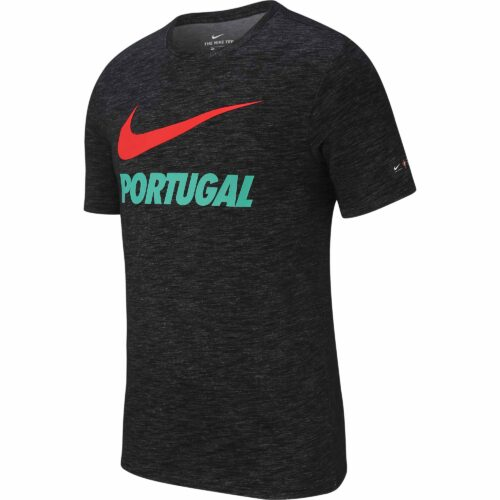 Nike Portugal Preseason Slub Tee – Black