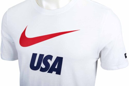 Nike USA Preseason Slub Tee – White
