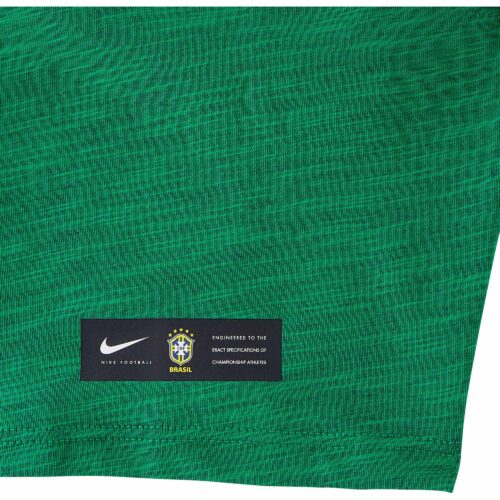 Nike Brazil Preseason Slub Tee – Youth – Lucky Green