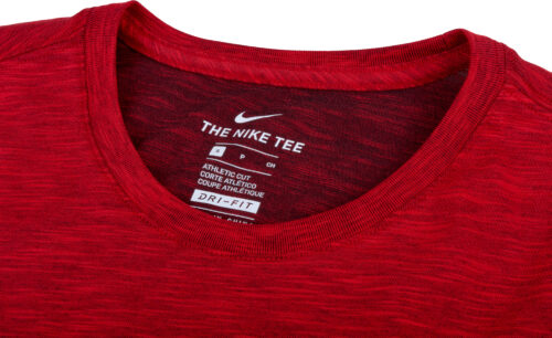 Nike England Preseason Slub Tee – Youth – Challenge Red