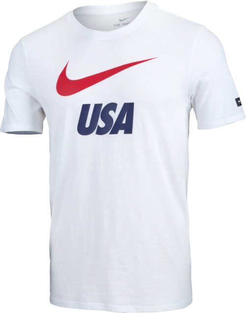 Nike USA Slub Tee – Youth – White