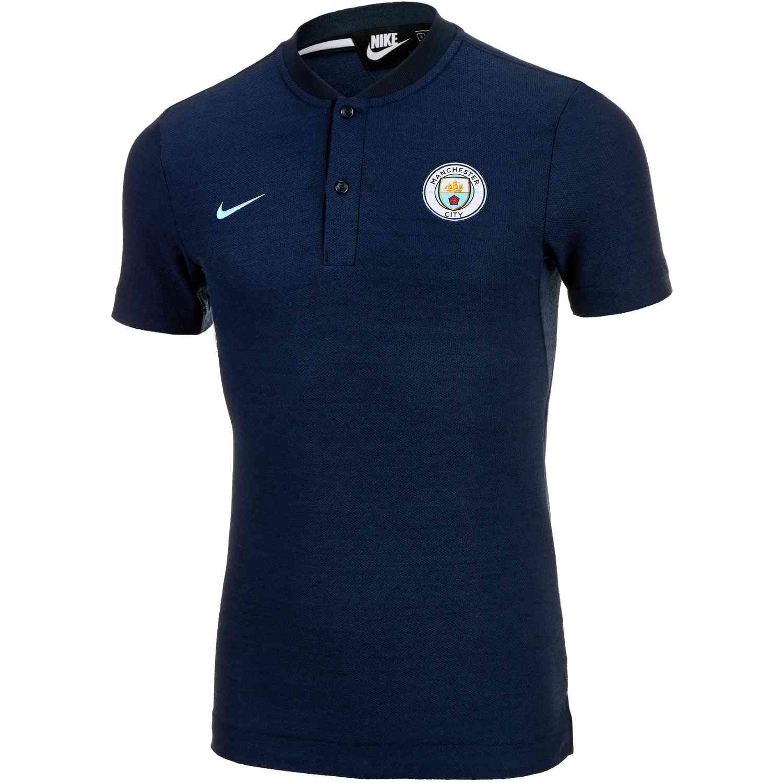 7738754d Nike Manchester City Grand Slam Polo - Dark Obsidian/Field Blue ...