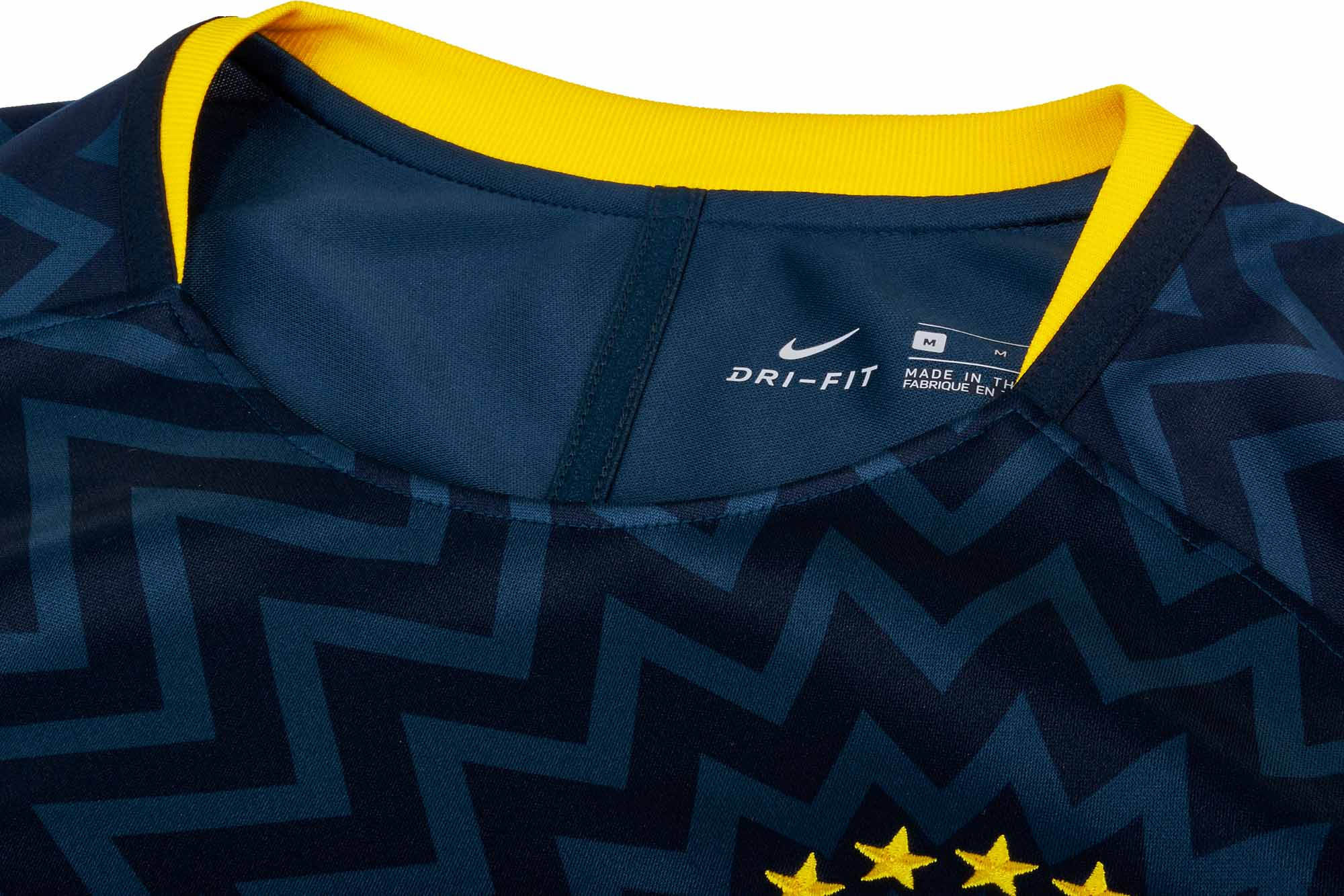 6b46d46aa4b Nike Brazil Pre-Match Jersey 2018-19 - SoccerPro