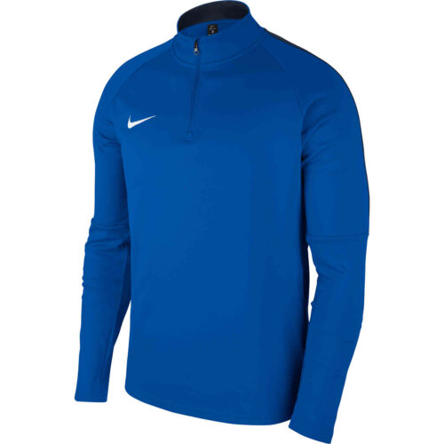 Nike Academy18 Drill Top – Royal Blue