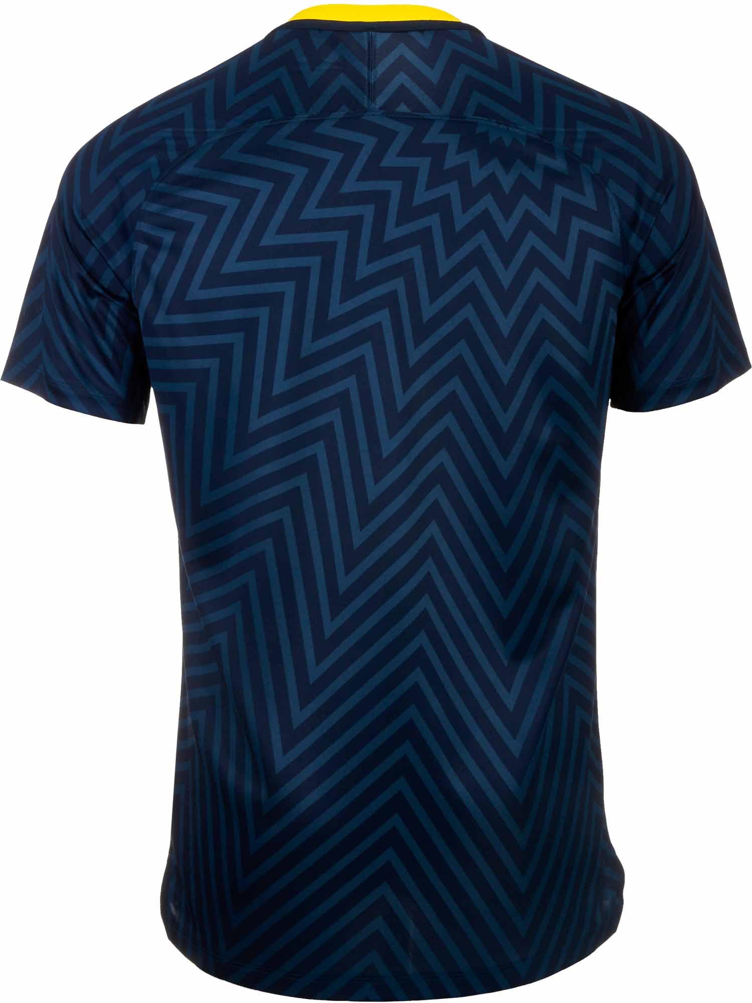 Nike Brazil Pre-Match Jersey - Youth 2018-19 - SoccerPro