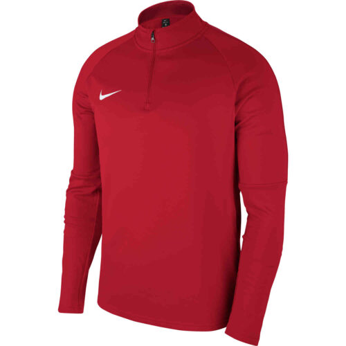 Kids Nike Academy18 Drill Top – University Red
