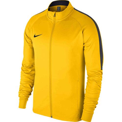Kids Nike Academy18 Track Jacket – Tour Yellow