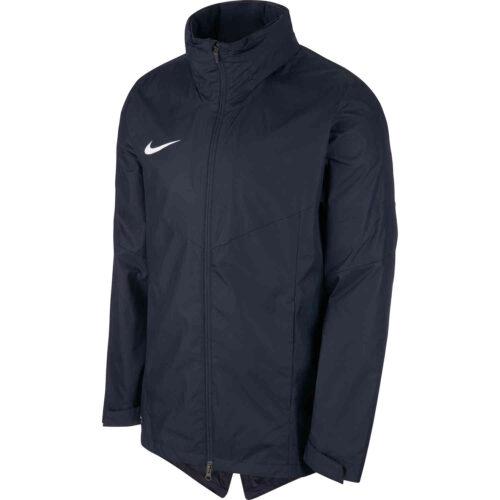 Womens Nike Academy18 Rain Jacket – Obsidian