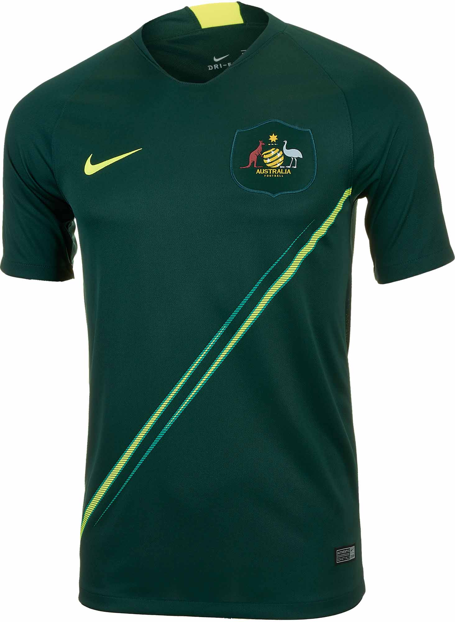 0e102e94a92 Nike Australia Away Jersey 2018-19 - SoccerPro