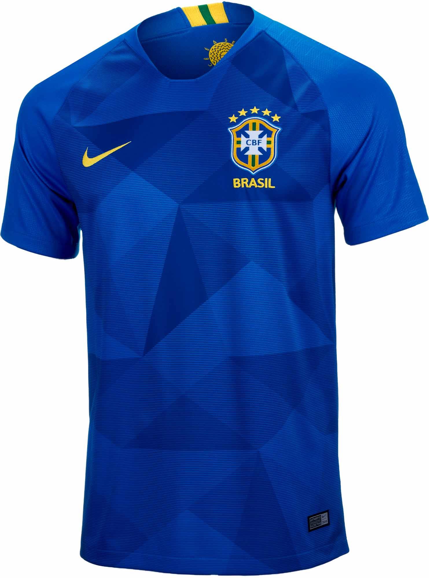 Nike Brazil Away Jersey 2018-19 - SoccerPro.com