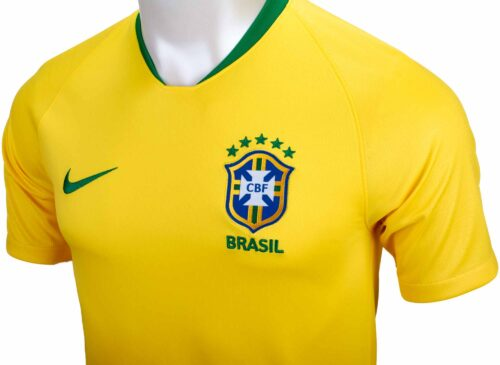 Nike Brazil Home Jersey 2018-19 NS
