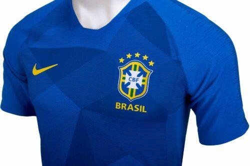 Nike Brazil Away Match Jersey 2018-19 NS