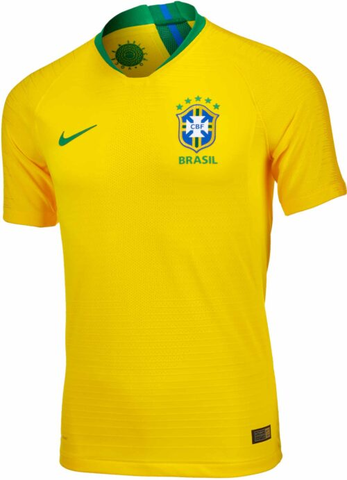 Nike Brazil Home Match Jersey 2018-19 NS