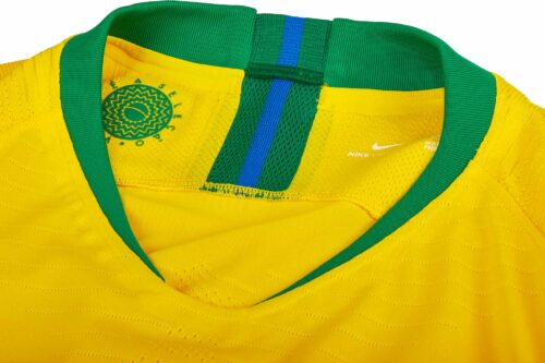 2018/19 Nike Brazil Home Match Jersey