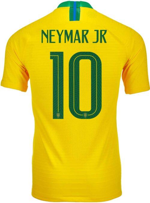 2018/19 Nike Neymar Jr Brazil Home Match Jersey