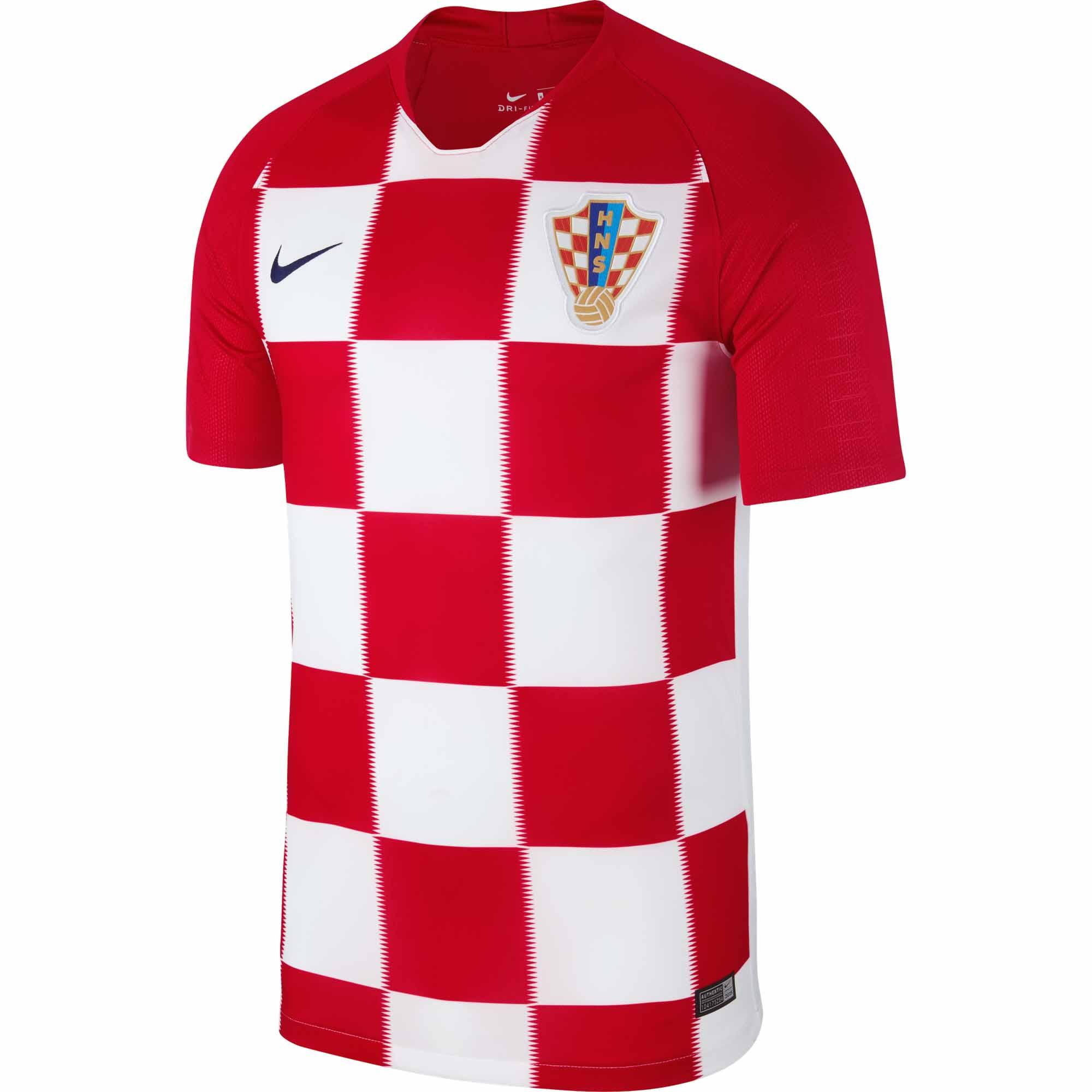 2018/19 Nike Croatia Home Jersey