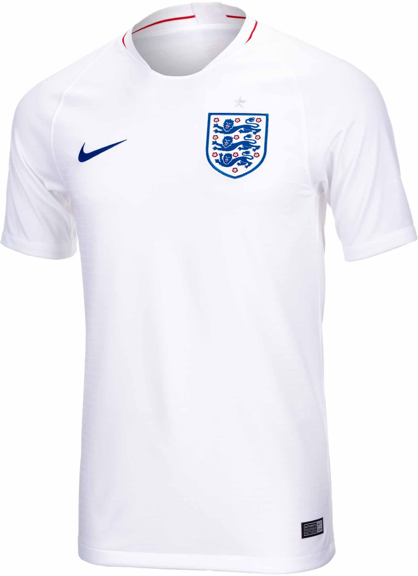 Nike England Home Jersey 2018-19 NS - SoccerPro.com c2ae32368